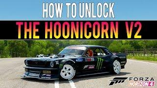 Forza Horizon 4 - How To Get The V2 HOONICORN! *NEW* - Fast Method