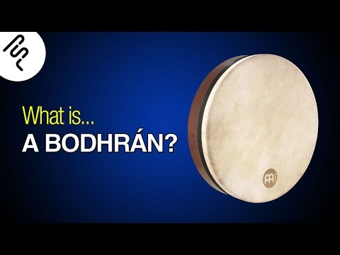 What is a Bodhrán? How does it sound?
