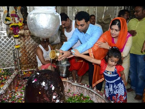 Collector bhondave visit ujjain mahakal with family | महाकालेश्वर |  संकेत भोंडवे