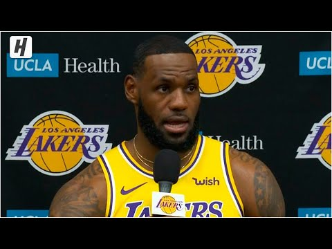 LeBron James Full Press Conference Interview | 2019 NBA Medi