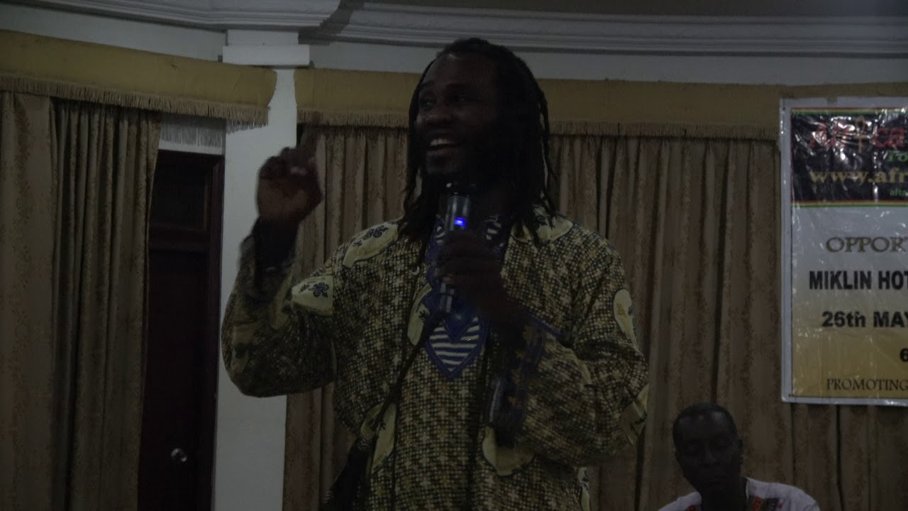 Dr. Ọbádélé Kambon at Ghana Repatriation Conf June 5, 2017 (Importance of African Languages)