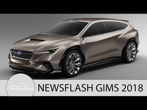 NEWS: Daimler Diesel PHEV, C-Klasse Motoren, Lexus UX, Subaru VIZIV Tourer Concept [4K] - Autophorie