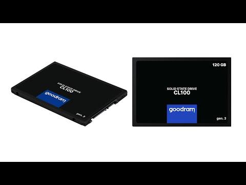 """Goodram SSD CL100 Gen.3 120GB 2.5"""" SATA III 3D NAND TLC (SSDPR-CL100-120-G3)"""