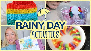 10 RAINY DAY ACTIVITIES + HOW TO ENTERTAIN KIDS | Emily Norris AD