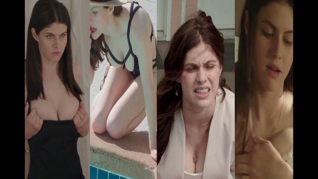 Download Alexandra Daddario - Kate- All unseen romantic scenes from Layover 2017 movie