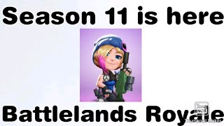 Season 11 in Battlelands Royale is here