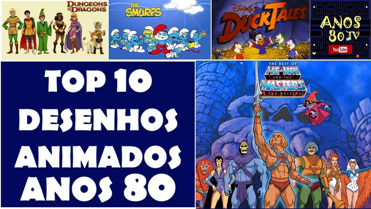 Top 10 Desenhos Animados Dos Anos 80 By Anos 80 Tv