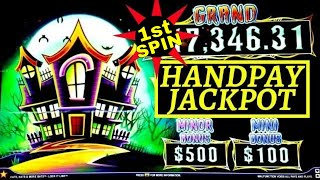 High Limit- Lock It Link Cats, Hats & More Bats 1st SPIN Handpay Jackpot! High Limit PREMIERE STREAM