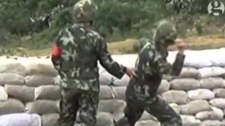 Fail Videos Soldier's Grenade Throw Goes Wrong