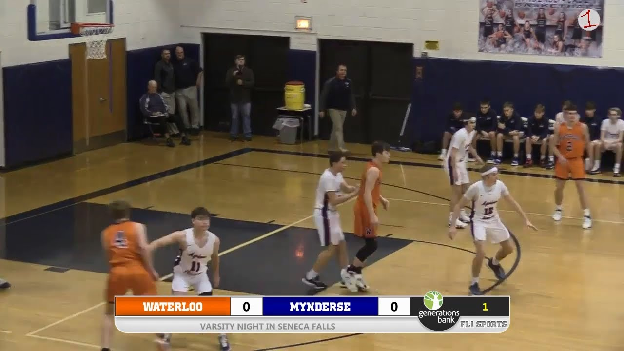 WEBCAST REPLAY: Waterloo visits Mynderse for Varsity Night Hoops Doubleheader (FL1 Sports)
