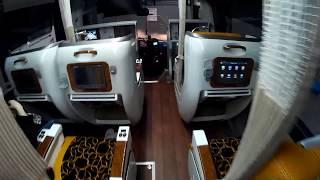 서울-광주 누워서 간다는 프리미엄 고속버스.. (일반고속버스 두배 요금 낼만할까?)