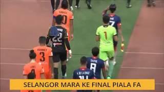 Selangor mara ke final Piala FA