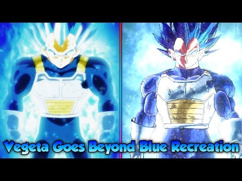 Vegeta goes beyond SSJ Blue! Breaking his Limits! Reenacting Epic Fights! - Dragon Ball Xenoverse 2
