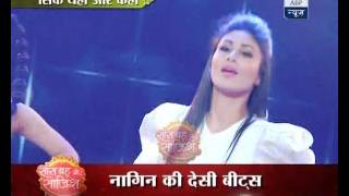 Watch Naagin showing off her moves on  'Desi look'