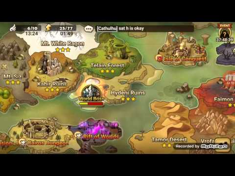 Summoners war : hanging out with gambella and the rica twin terrors