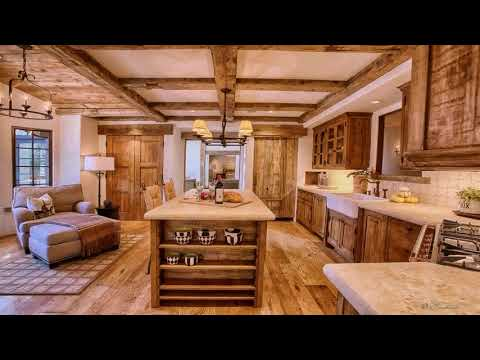Kitchen Designs With Wood Beams