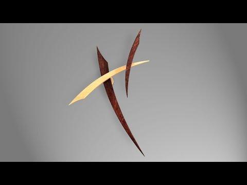 Fescue - A Balancing Wooden Sculpture