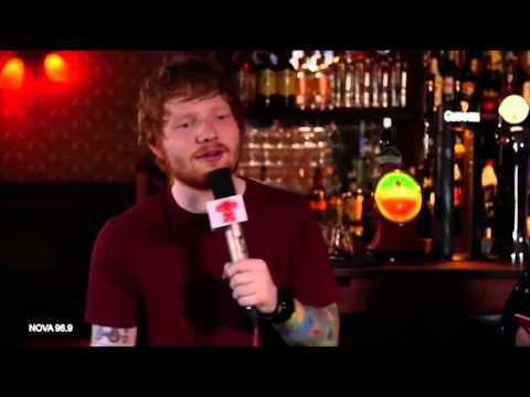 Ed Sheeran tells all about farting on...