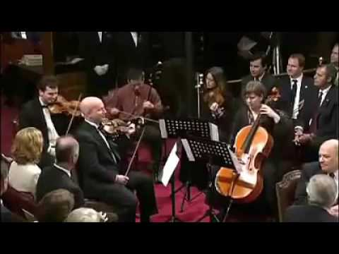 Epic orchestra performance led by an erhu virtuoso (erhu @ Chinese bowed stringed instrument)