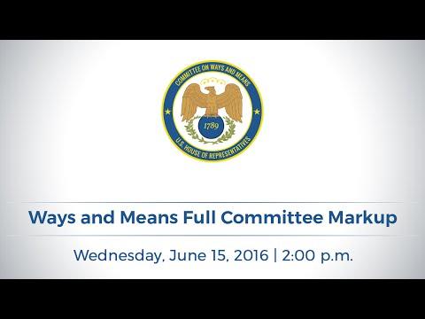 Full Committee Markup of Child Welfare Legislation and 7 Bills to Improve Health Care