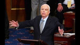 "John McCain Makes Epic ""No"" Trumpcare Speech, Votes Yes"