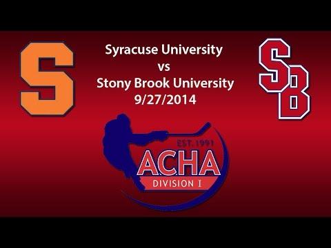 Syracuse University @ SBU 9/27/2014