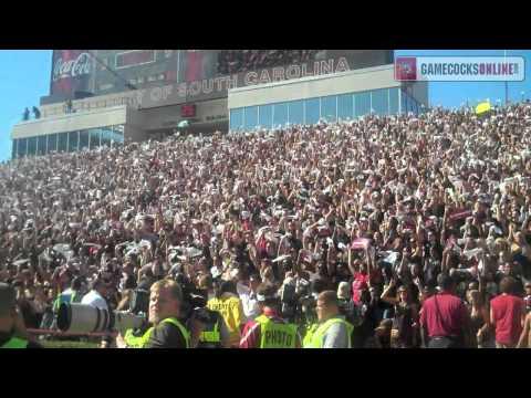 """Sandstorm"" before kickoff - South Carolina Gamecocks"