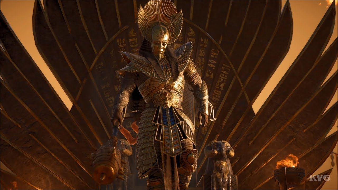 Assassins Creed Origins The Curse Of The Pharaohs Ramesses