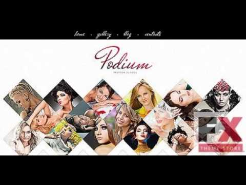 Preview White Model Agency Joomla Template By Di Joomla  T