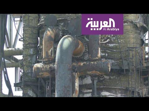 الصور الاولى والخاصة للعربية من موقع الاعتداء في معمل خريص  - نشر قبل 3 ساعة