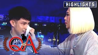 Ion suddenly cries after being hailed as the New Breakthrough Artist | It's Showtime Mr. Q and A