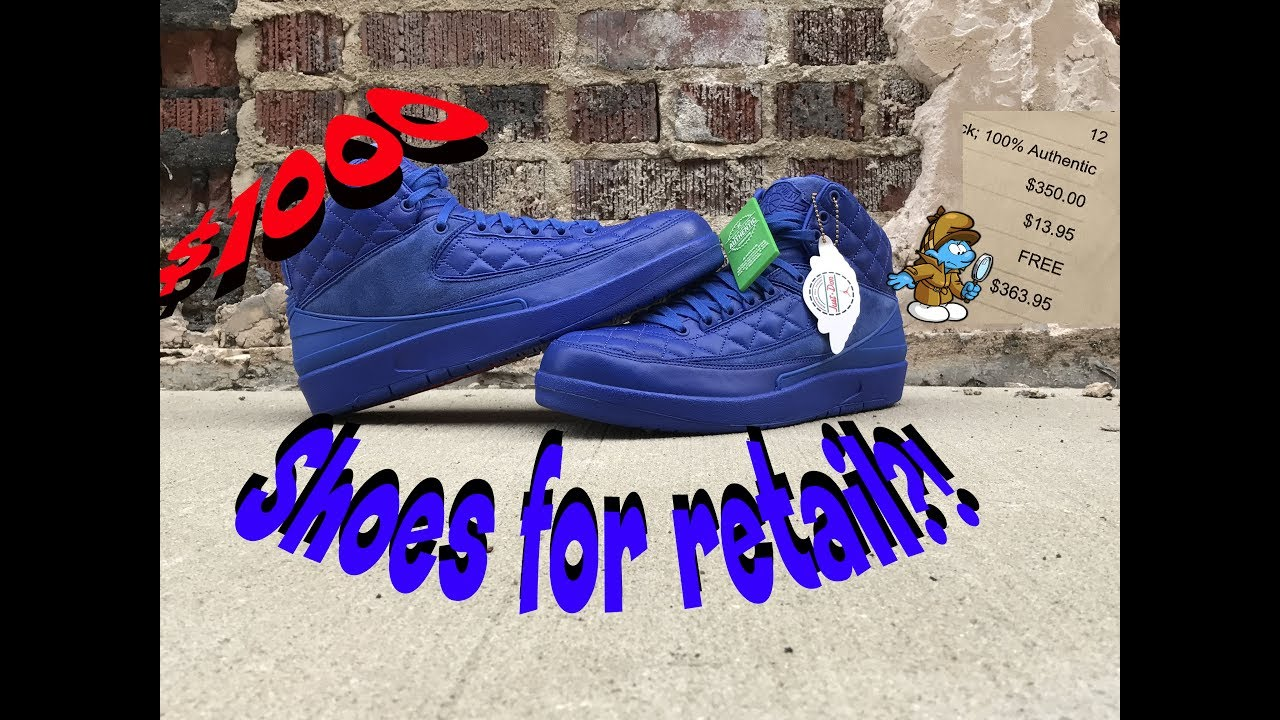 size 40 e0e48 28bb4 Jordan Just Don 2 Smurf For Retail!?!? StockX Unboxing & Review!!