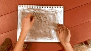 How to Draw With Thin Charcoal Sticks : How to Draw With Charcoal