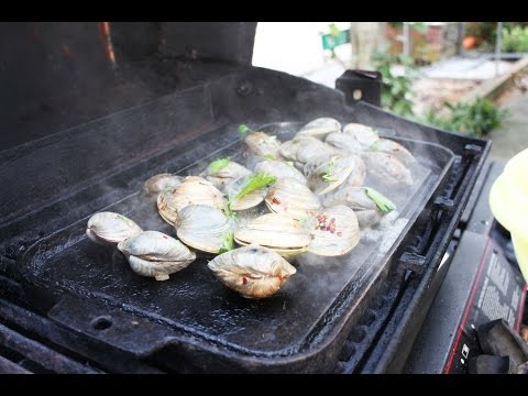 Clams on the BBQ - OrsaraRecipes