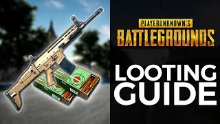 PUBG XBOX - Looting Guide!