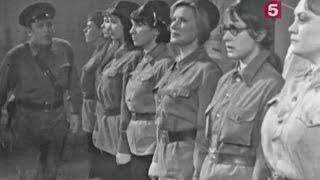 """""""А зори здесь тихие"""", телеспектакль. ЛенТВ, 1970 г."""