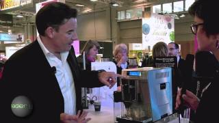 Foire de Paris  2013 : robot café PrimaDonna XS Delonghi