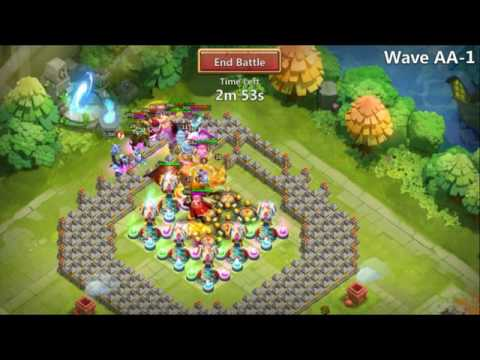 (F2P) HBM-AA HOW TO GET A VICTORY! -CASTLE CLASH