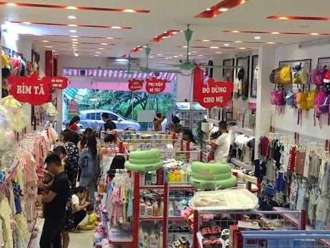 Video giới thiệu siêu thị mẹ và bé Gấu Đôi Thái Nguyên co sở 1 | đồ sơ sinh