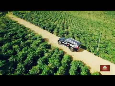 FLYCAM - VUONG FARM COFEE - Dalat Vietnam