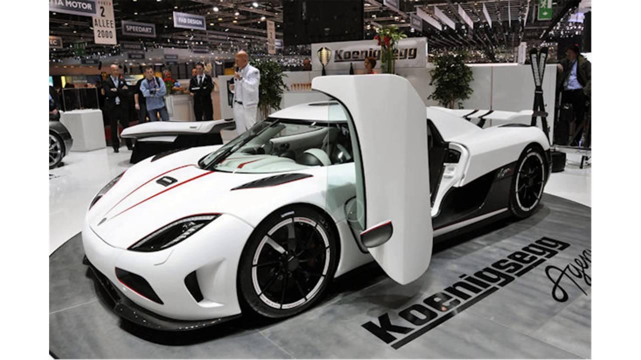 Koenigsegg Agera R 0 60