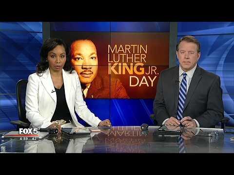Rev  Martin Luther King, Jr  Day Service in Atlanta