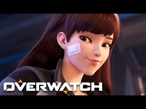 "Overwatch - ""Shooting Star"" D.Va Animated Short"