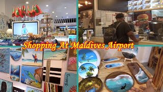 Walk Around Shopping Mall  N Maldives Airport