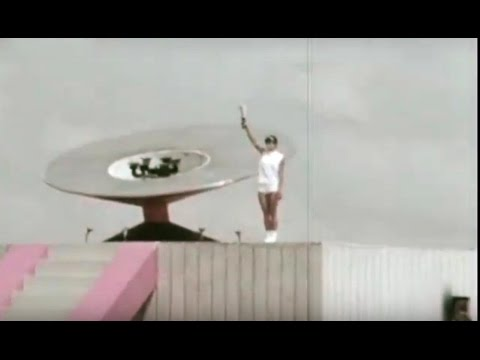 Estrellas y deportes en la XIX Olimpiada de México 1968 - Antorcha Olímpica
