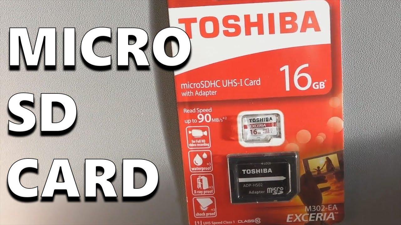 Micro Sd Karte 128gb Test.Toshiba Exceria M302 Micro Sd Card Performance Test