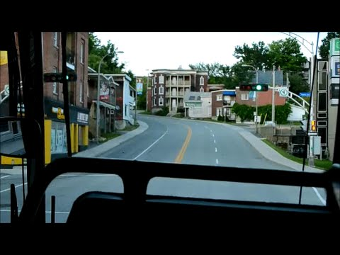 LEAVING SHERBROOKE QC ON A LIMOCAR PREVOST COACH