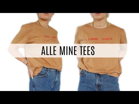 ALLE MINE T-SHIRTS