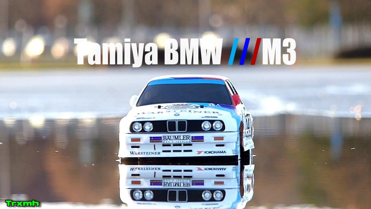 tamiya rc bmw m3 tt 01 first run youtube. Black Bedroom Furniture Sets. Home Design Ideas
