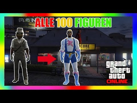 🃏GUIDE All ACTION FIGURES 🃏 GTA V Online: ALLE 100 AKTION FIGUREN LOCATIONS UND RAGE OUTFIT